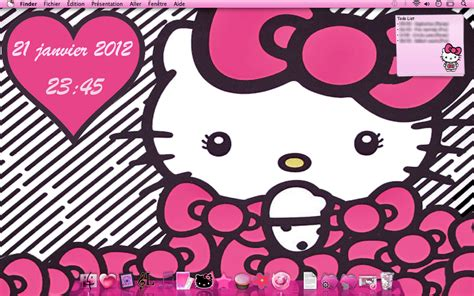 Hello Kitty New Themes | hello kitty big bow theme mac by ladypinkilicious on