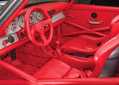 porsche rsr interior for sale 964 porsche 911 rsr with just 6 on the