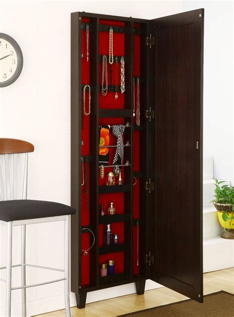 jewellery armoire cabinet jewelry cabinet for safe storage resolve40 com