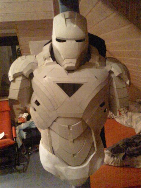 Origami Iron Helmet - iron cardboard armor preview 1 by bullrick deviantart