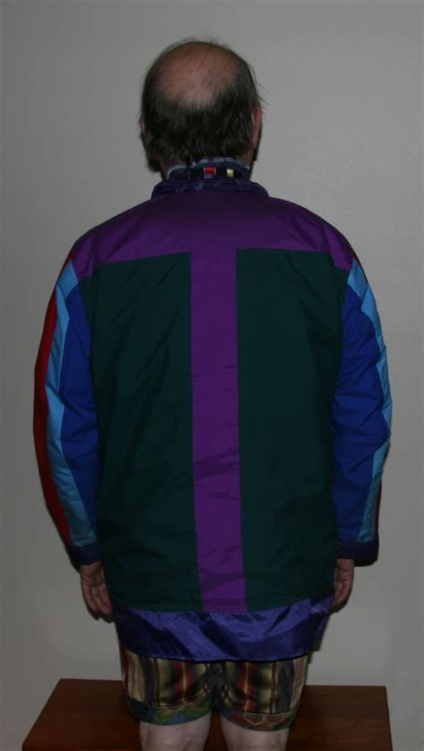 artistic gortex jacket back view