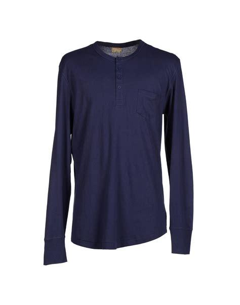 alternative apparel t shirt in blue for lyst