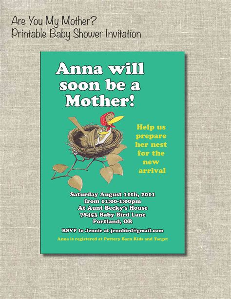 Books For Baby Shower by Book Themed Baby Shower Are You By Printablepartiesinc