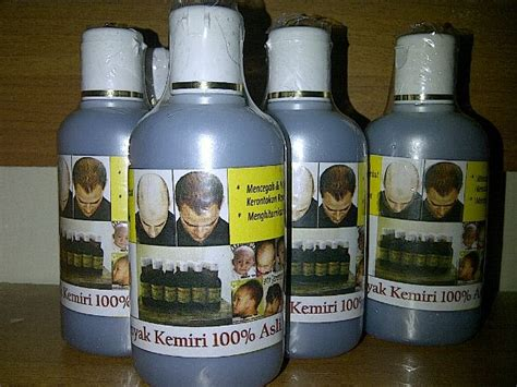 Murah Kukui Minyak Kemiri Original Penyubur Rambut menumbuhkan rambut minyak kemiri asli toko jual murah diskon promo original harga