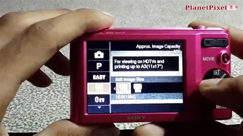 Sony Cybershot Dsc W810 Paket sony cybershot dsc w810 unboxing review feature tour