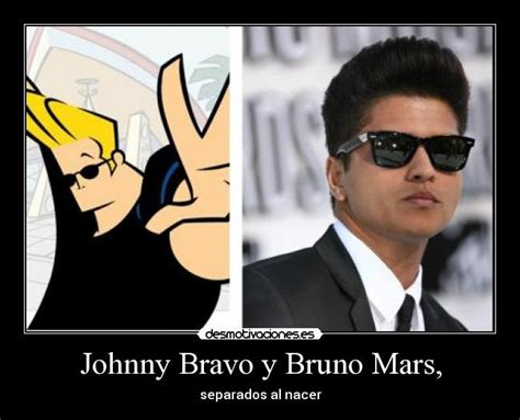 Johnny Bravo Meme - bruno mars funny