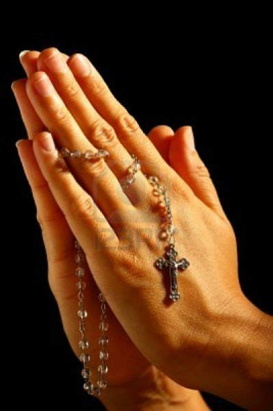 25 Best Praying Hands With Rosary Ideas On Pinterest Praying With Rosary And Cross