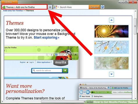 Firefox Themes English | how to get mozilla firefox themes 4 steps with pictures