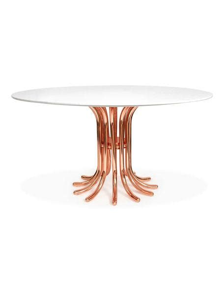 gold base dining table gold base marble top dining table