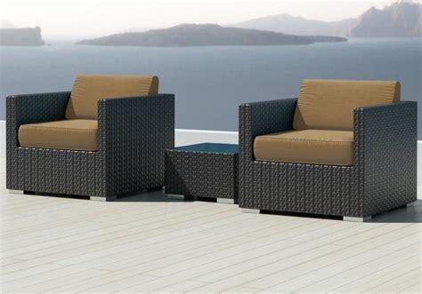 3pc sectional sofa luxxella bistro 3pc sunbrella outdoor sectional sofa set