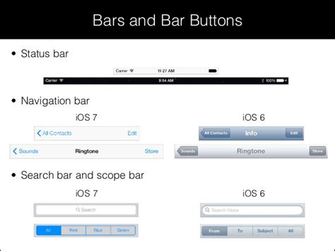 xcode layout navigation bar session 8 xcode 5 and interface builder for ios 7