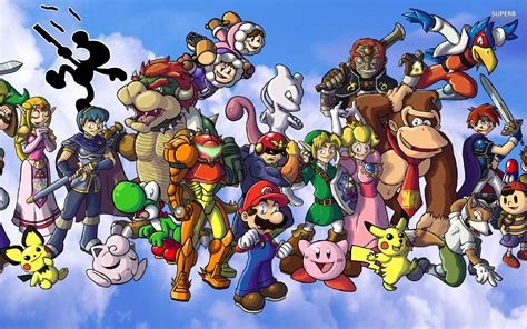 Smash Bros smash bros wallpaper