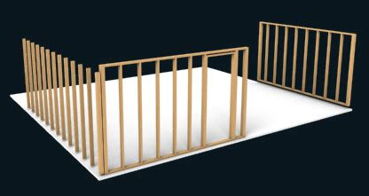 How To Frame A Room by Framing A Room With Woodworking Design Software