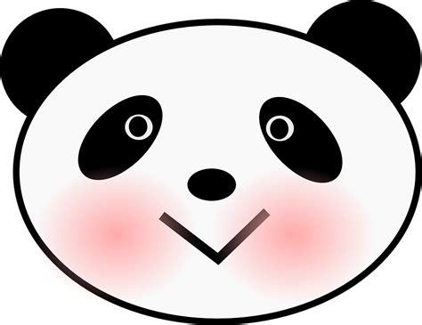 Animal Mask Masker Wajah Gambar Hewan gambar vektor gratis panda beruang wajah kepala