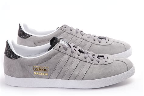 new mens adidas gazelle og originals smart casual leather classic shoes trainers ebay