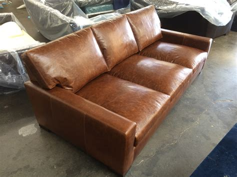 super deep sofa braxton leather sofa custom dimensions 98 x 48 the