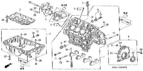 2002 honda odyssey parts diagram honda store 2002 odyssey cylinder block pan