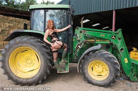 girls on john deere tractors girl on a john deere girls with tractors pinterest