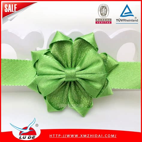 wholesale metallic ribbon bows for box decoration buy