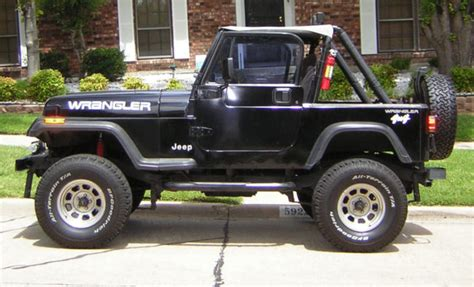 manual cars for sale 1994 jeep wrangler interior lighting 1994 jeep wrangler jeep wrangler used 94 manual suv 4 cylinder hard top low mile for sale