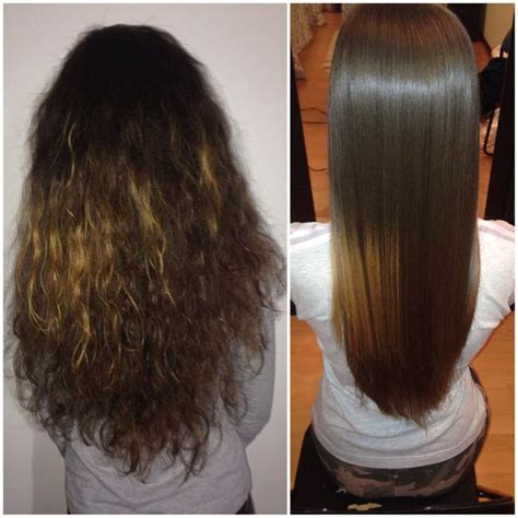 keratin straightening and short haircut 11 best keratin complex smoothing images on pinterest