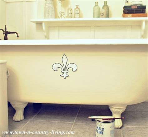 Painting Clawfoot Tub Painting A Claw Foot Tub Live Creatively Inspired