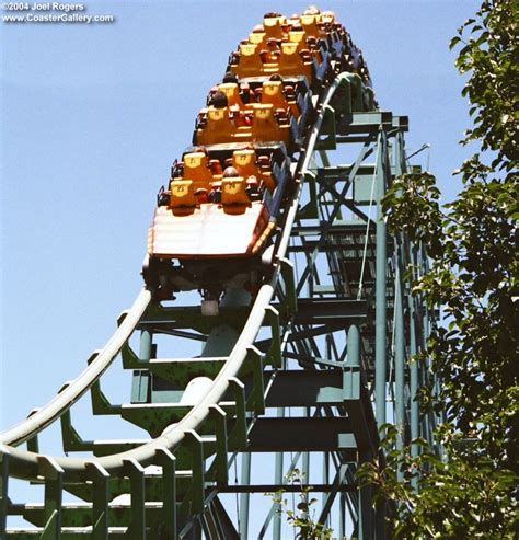 Sidewinder Elitch Gardens by Stock Photography Of Roller Coasters
