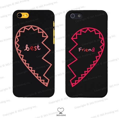 Home Interior And Gifts Inc Best Friends Matching Phone Case Set For Bff Iphone 4 4s 5