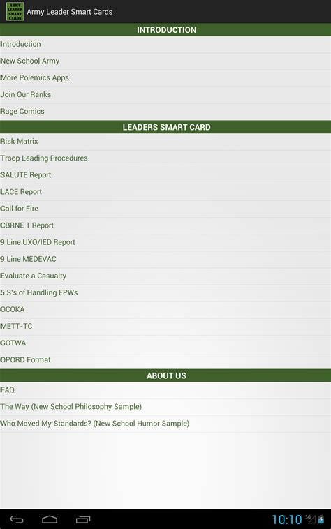 Best Smart Home Upgrades amazon com army leader smart cards appstore for android