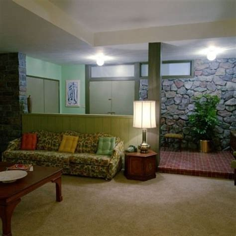 brady bunch living room brady living room brady bunch pinterest