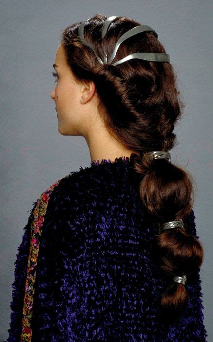 how to do queen hairstyles one of padme s many hair styles queen amidala pinterest