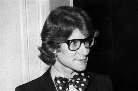 biography yves saint laurent yves saint laurent s bow tie should make all stylish men