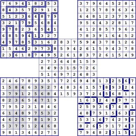 printable multiple sudoku multi sudoku