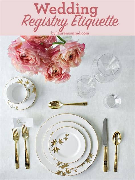 Wedding Registry Etiquette by Wedding Bells Registry Etiquette 101 Conrad