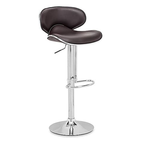 fly bar stool zuo 174 modern fly bar stool bed bath beyond