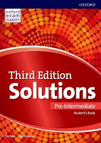 solutions pre intermediate workbook leading paul a falla author profile news books and speaking inquiries