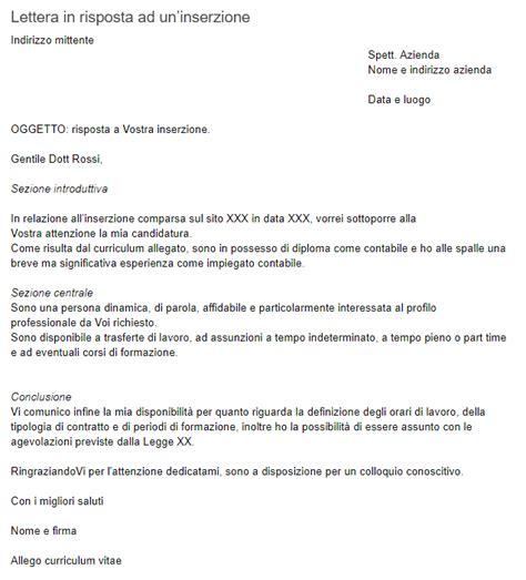 lettere di presentazione lavoro esempio di lettera di presentazione per chi cerca lavoro