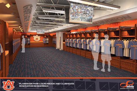 locker room auburn designs of auburn baseball s new clubhouse