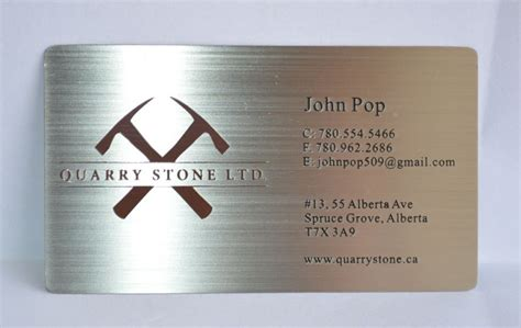 Steel Business Cards metal business cards silver gold black free