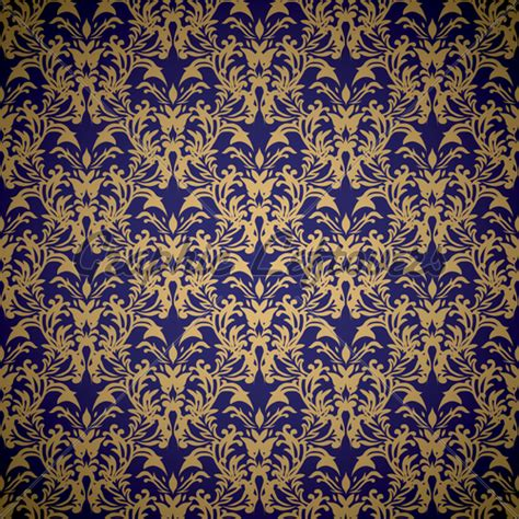 free royal background pattern royal blue and gold wallpaper wallpapersafari