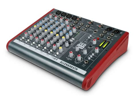 Mixer Allen Heath 8 Channel allen and heath zed 10fx 10 channel mixer with usb