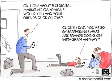 design thinking jokes quot instagram advertising quot cartoon marketoonist tom fishburne