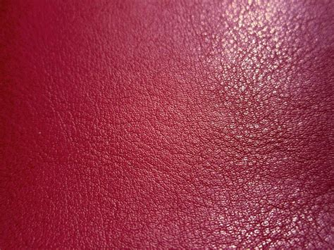 red leather upholstery faux leather fabric in lambskin pattern dark red half yard