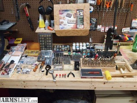 leather working bench armslist for sale huge lot of leatherworking tools and
