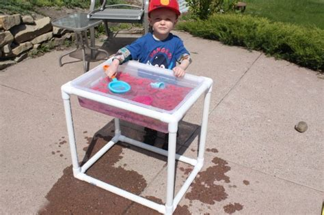 Diy Sensory Table by 25 Things To Make With Pvc Pipe