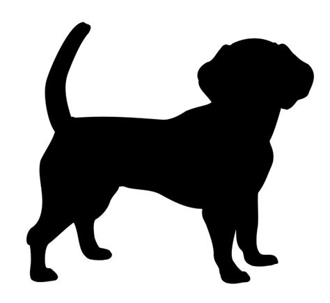 puppy silhouette silhouette free stock photo domain pictures