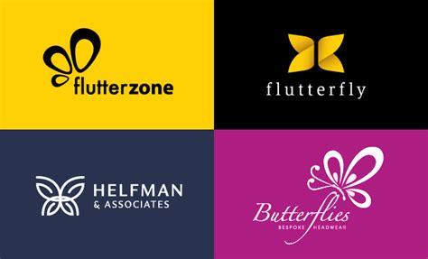 design inspiration group 40 creative butterfly logo design exles for inspiration