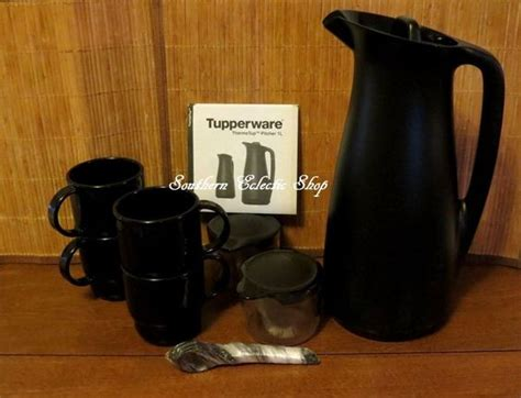 Pitcher Set Collection Tupperware tupperware coffee house collection thermo tup pitcher cups