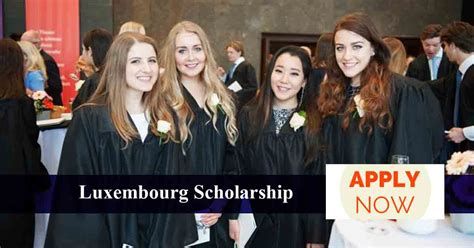 Mba Entrepreneurship Scholarships by Scholarship In Luxembourg Scholarshipin