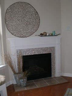 Of Pearl Fireplace by 1000 Images About Fireplace On Glass Tile